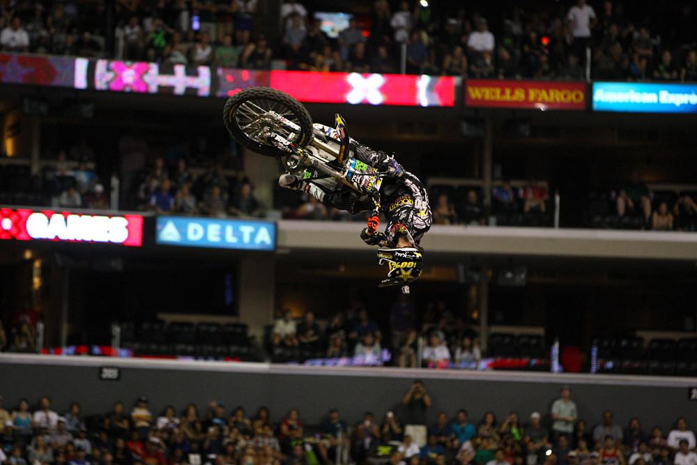 2: Jarryd McNeil - Top Six: X Games Moto X Best Whip - Motocross Pictures - Vital MX