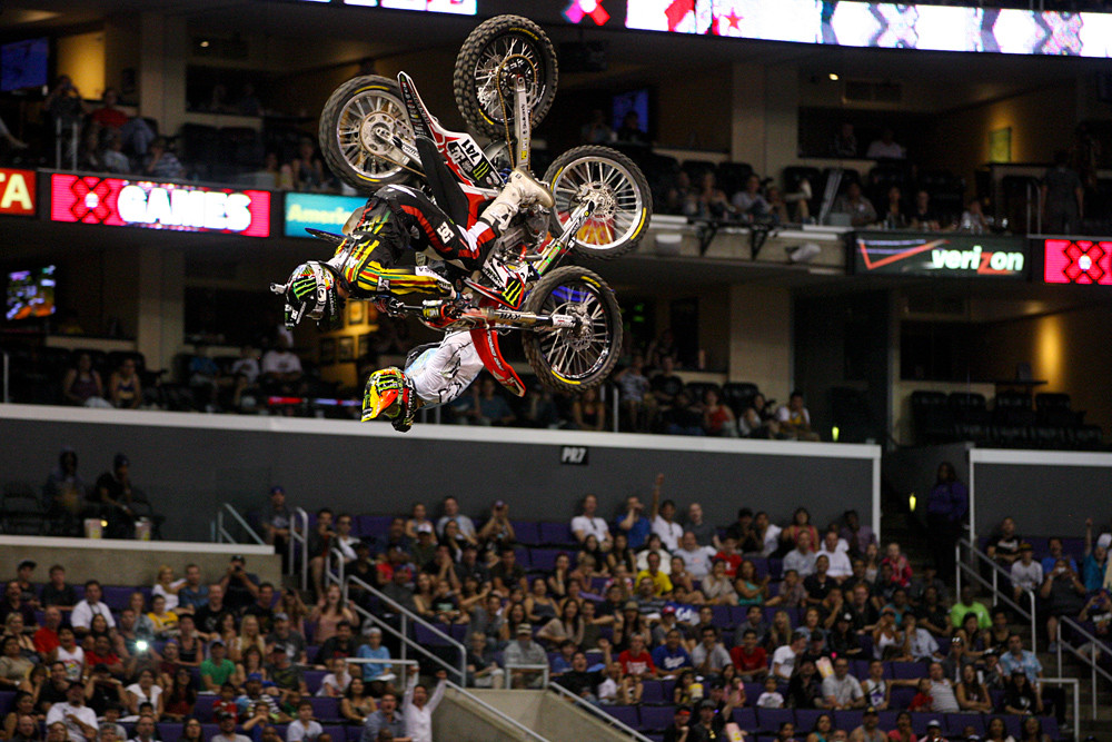 Nate Adams and Edgar Torronteras - X Games 2012: Speed and Style - Motocross Pictures - Vital MX