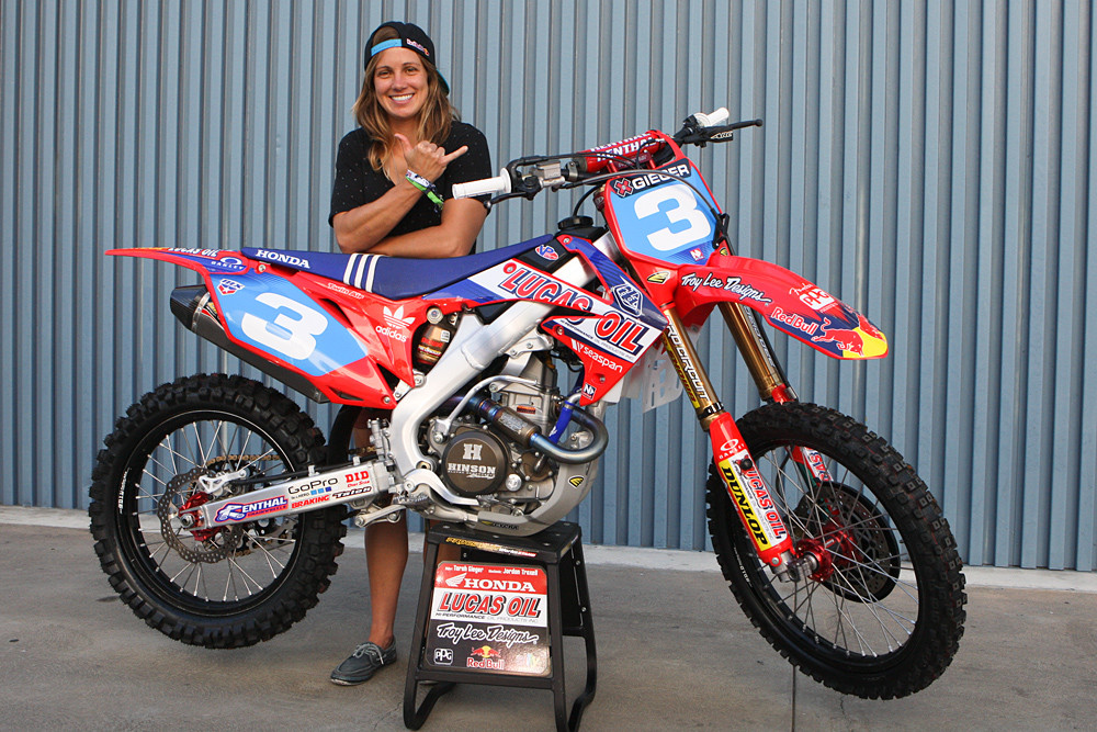 Tarah Gieger - X Games 2012: Speed and Style - Motocross Pictures - Vital MX