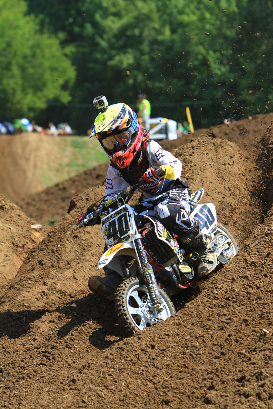 Gage Linville - Day 3: 2012 Red Bull AMA Amateur National Motocross Championships - Motocross Pictures - Vital MX