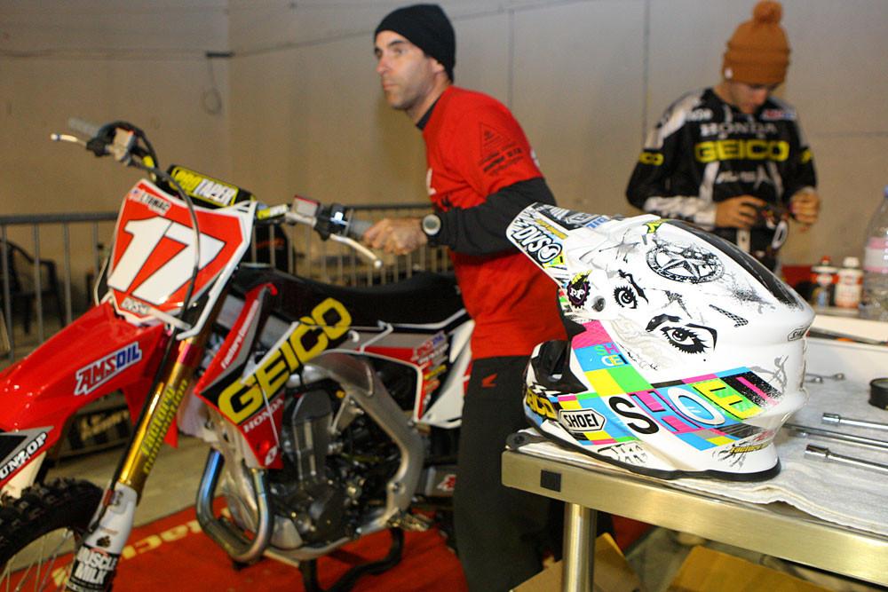 Shoei - Vital MX Pit Bits: Bercy Friday - Motocross Pictures - Vital MX