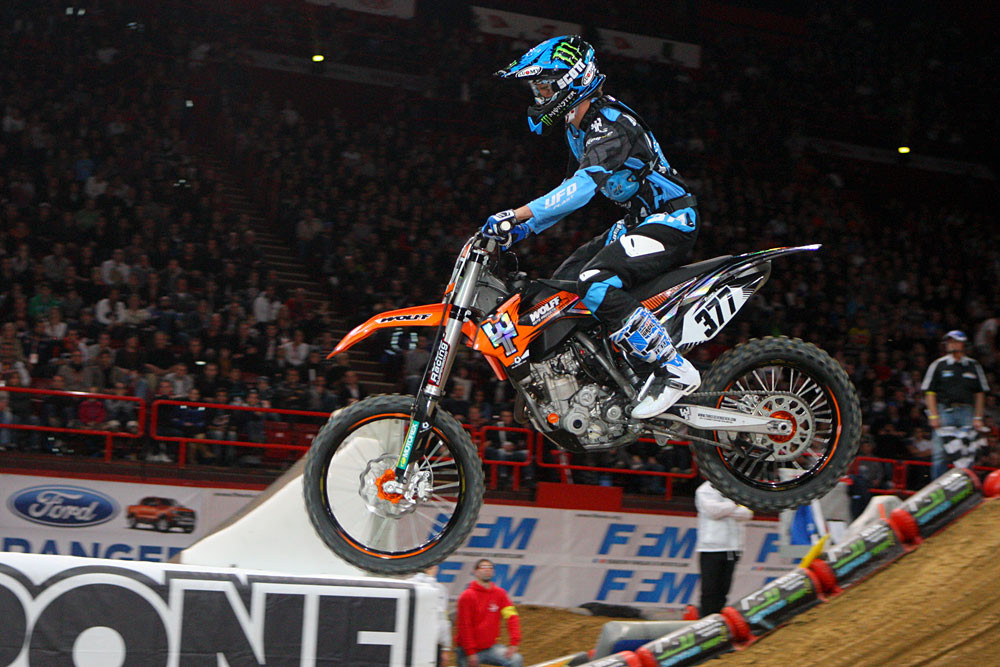 Christophe Pourcel - Photo Blast Bercy Night Two - Motocross Pictures - Vital MX