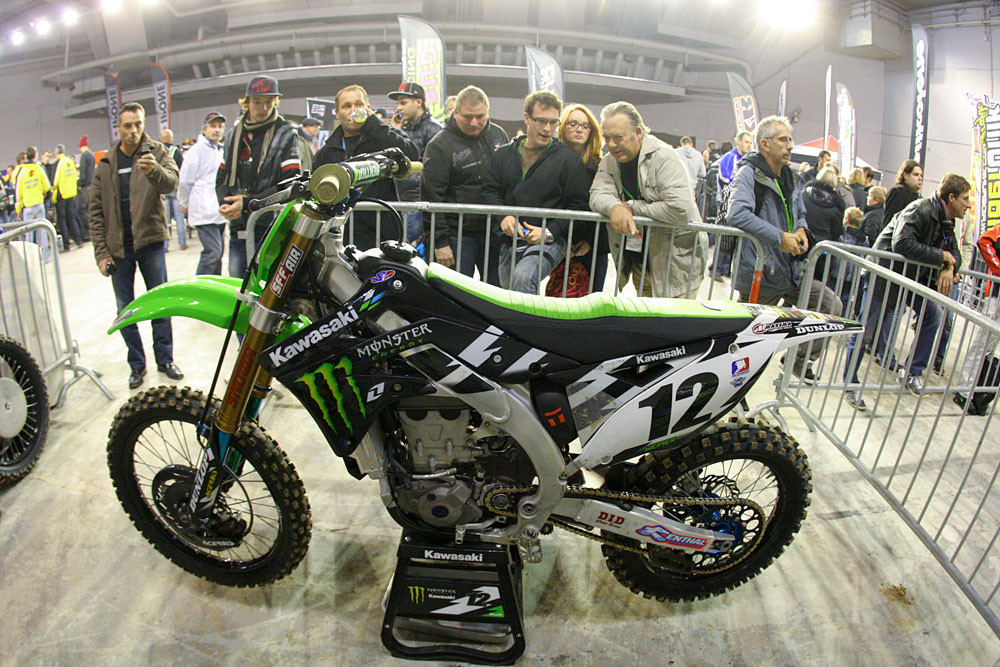 French Fans - Photo Blast: Bercy Night Three - Motocross Pictures - Vital MX