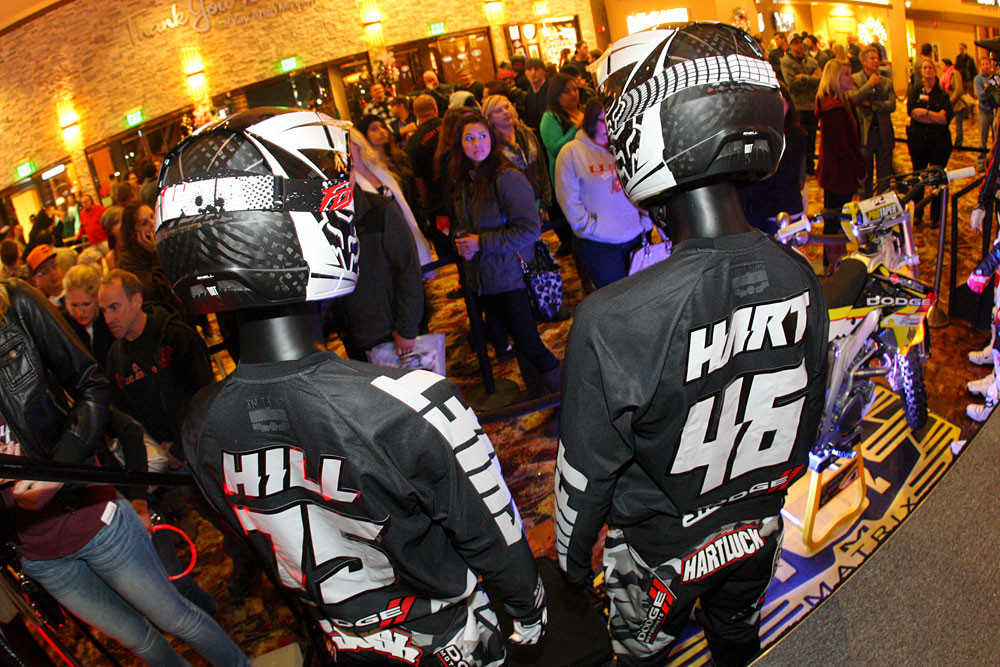 Josh Hill and Carey Hart - RCH at Sycuan - Motocross Pictures - Vital MX