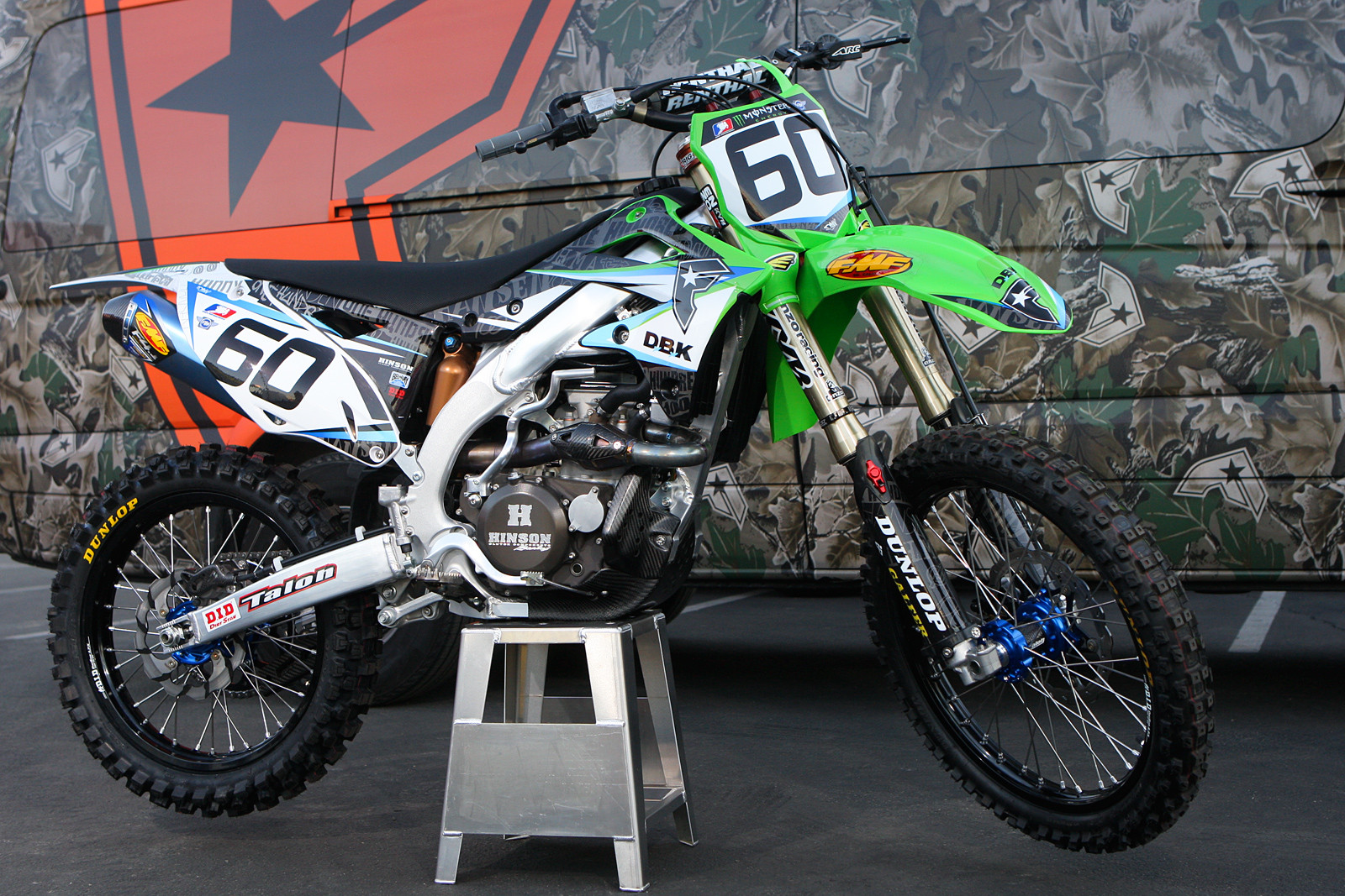 Josh Hansen - Bikes of Supercross 2013 - Motocross Pictures - Vital MX