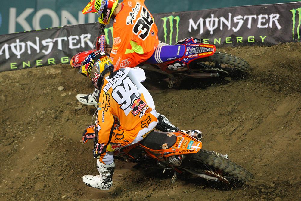 Jessy Nelson and Ken Roczen - Photo Blast: Anaheim 1 - Motocross Pictures - Vital MX