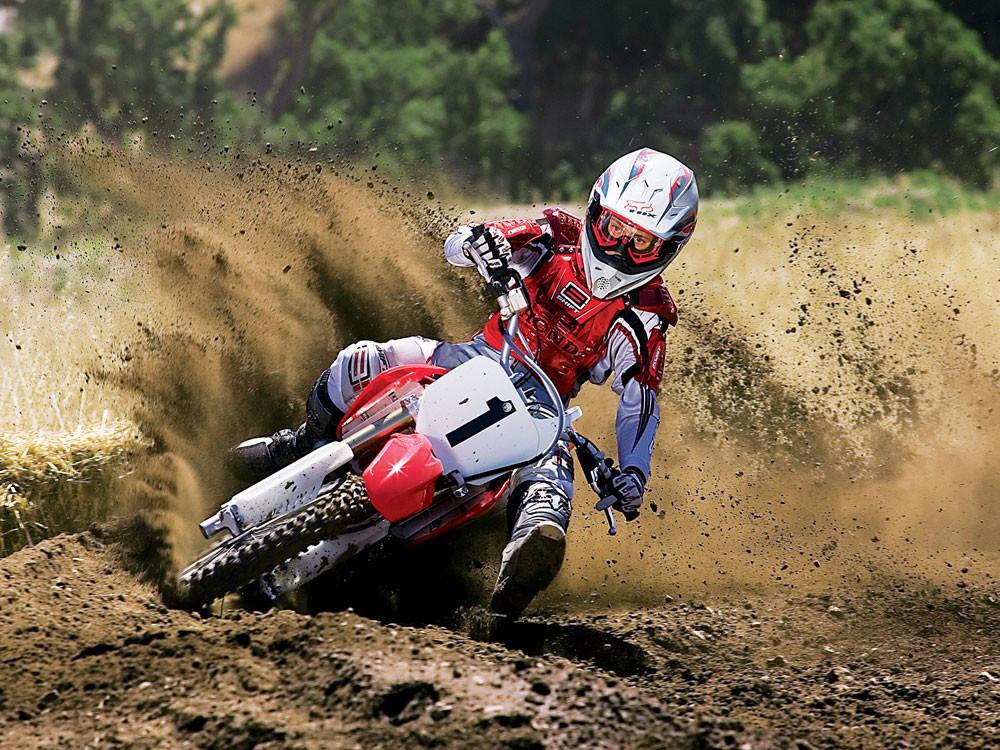 2007 Honda CRF150R - 2007 Honda CRF150R Action - Motocross Pictures - Vital MX