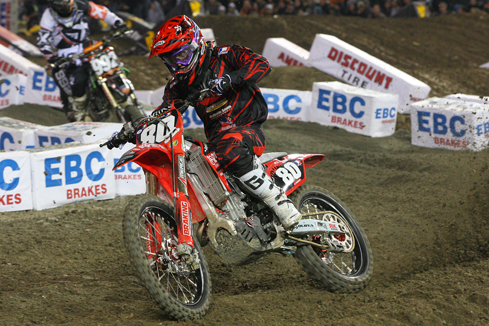 Michael Leib - Photo Blast: Anaheim 1 - Motocross Pictures - Vital MX