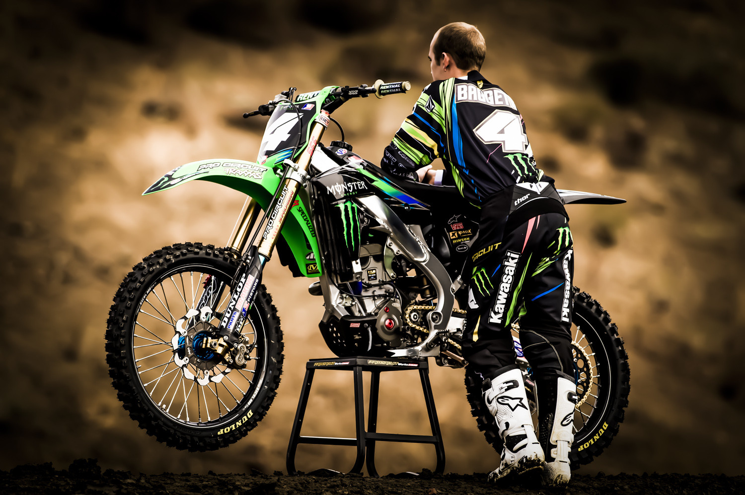 Blake Baggett - Monster Energy Pro Circuit Kawasaki - Motocross Pictures - Vital MX