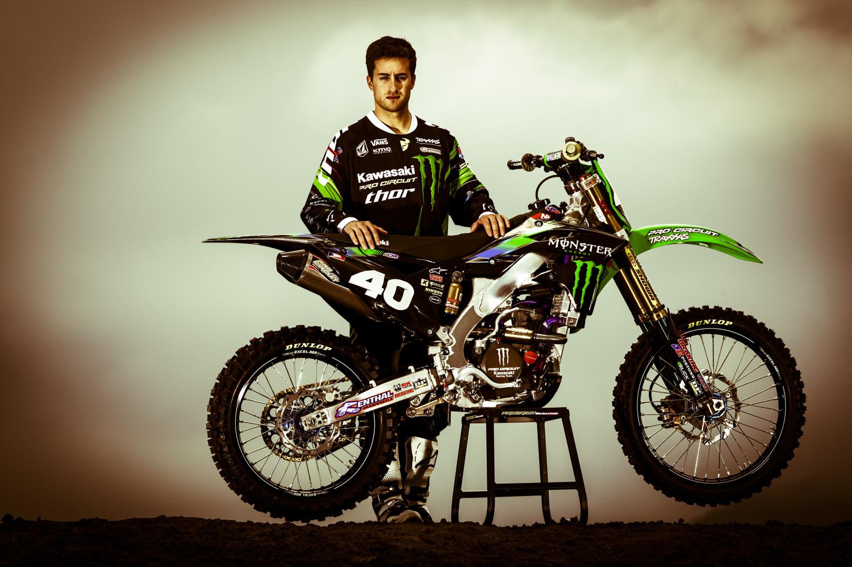 Martin Davalos - Monster Energy Pro Circuit Kawasaki - Motocross Pictures - Vital MX