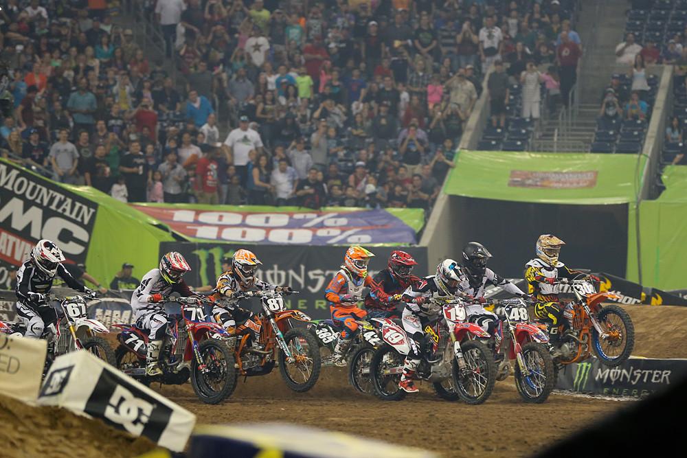 250 Heat One Start - Photo Blast: Houston - Motocross Pictures - Vital MX
