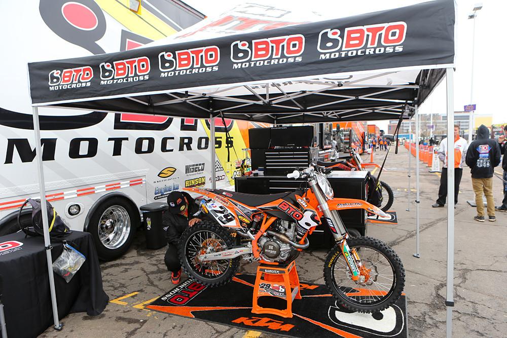 BTO Sports/KTM - Vital MX Pit Bits: Minneapolis - Motocross Pictures - Vital MX