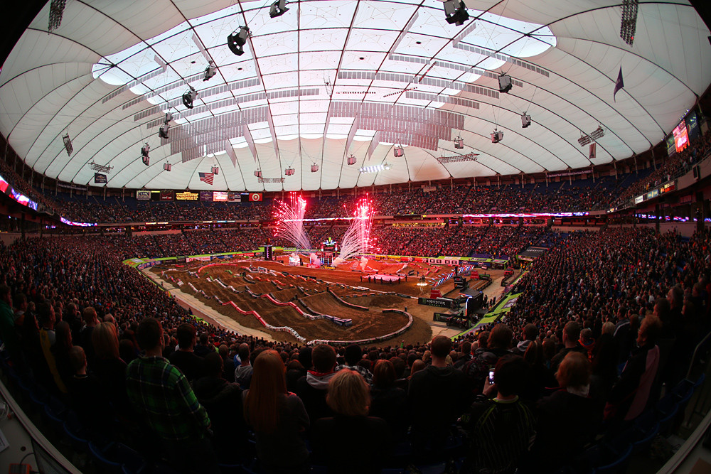 Mall of America Dome - Photo Blast: Minneapolis - Motocross Pictures - Vital MX