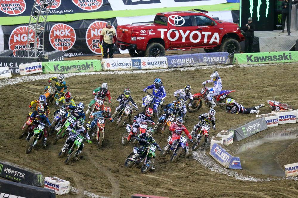 250 Heat One Start - Photo Blast: Seattle - Motocross Pictures - Vital MX