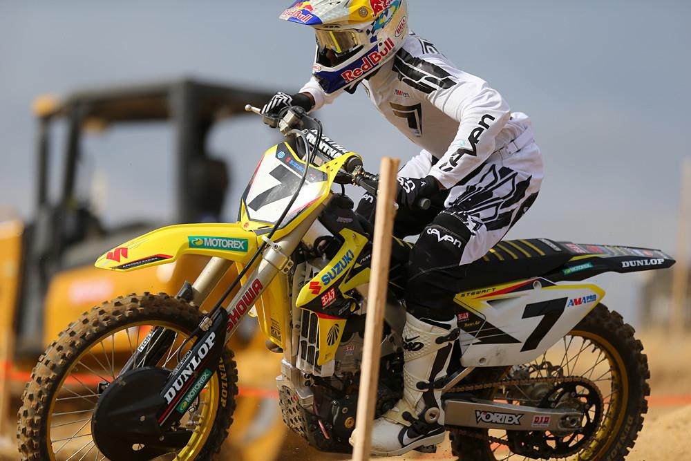 James Stewart - Hangtown Press Day - Motocross Pictures - Vital MX