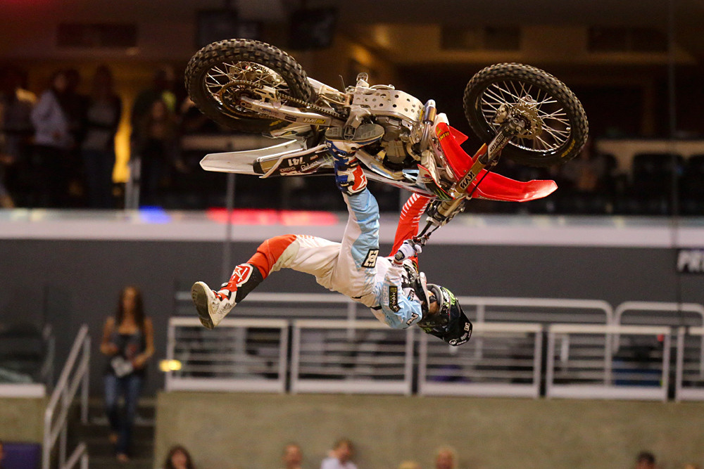 Nate Adams - 2013 X Games L.A.: Moto X Freestyle - Motocross Pictures - Vital MX