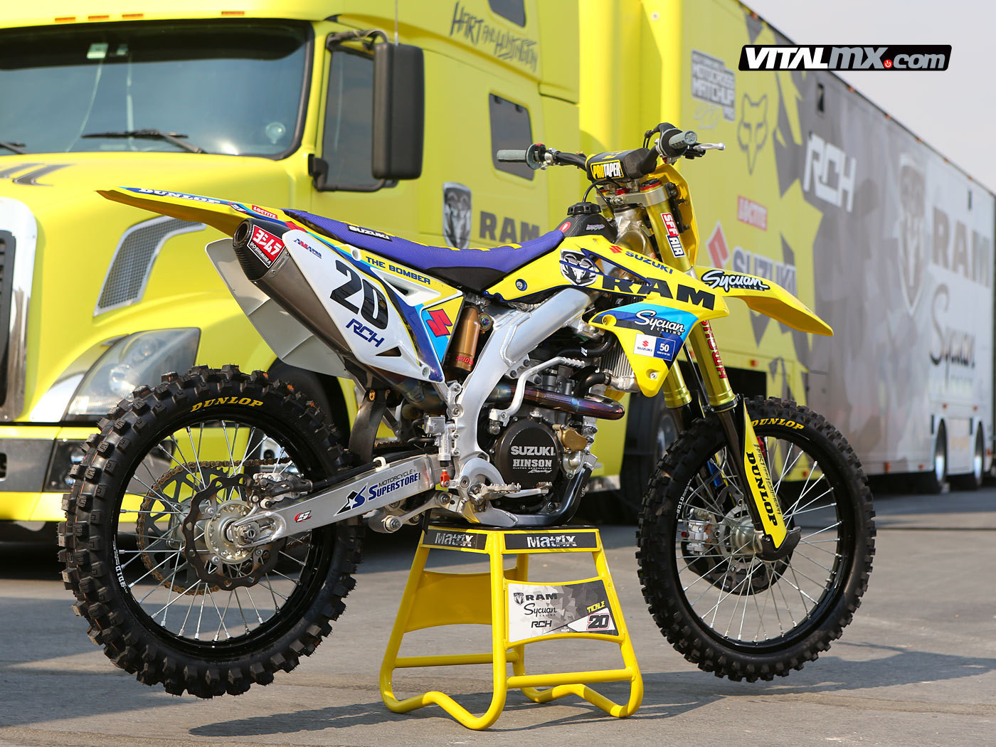 RAM / Sycuan Casino / Hart & Huntington / Bel Ray Racing Team - The Big Picture - Motocross Pictures - Vital MX