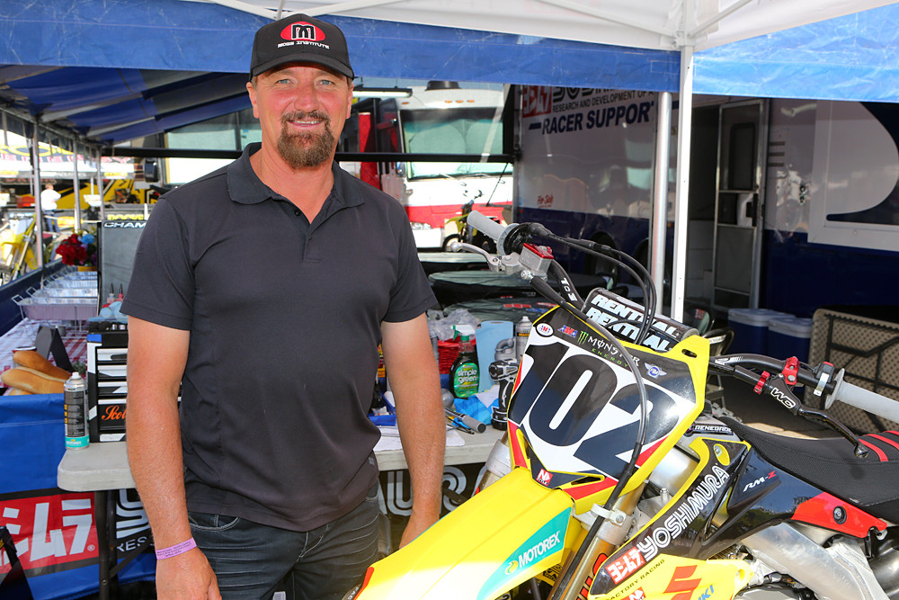 Greg Moss - Vital MX Pit Bits: San Diego - Motocross Pictures - Vital MX