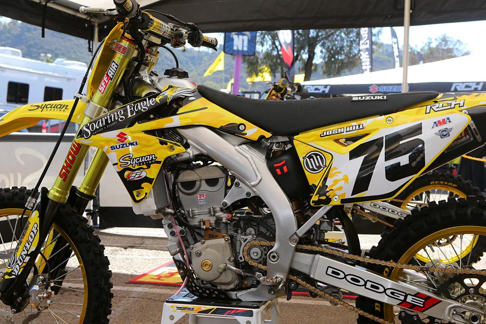 Josh Hill - Vital MX Pit Bits: San Diego - Motocross Pictures - Vital MX