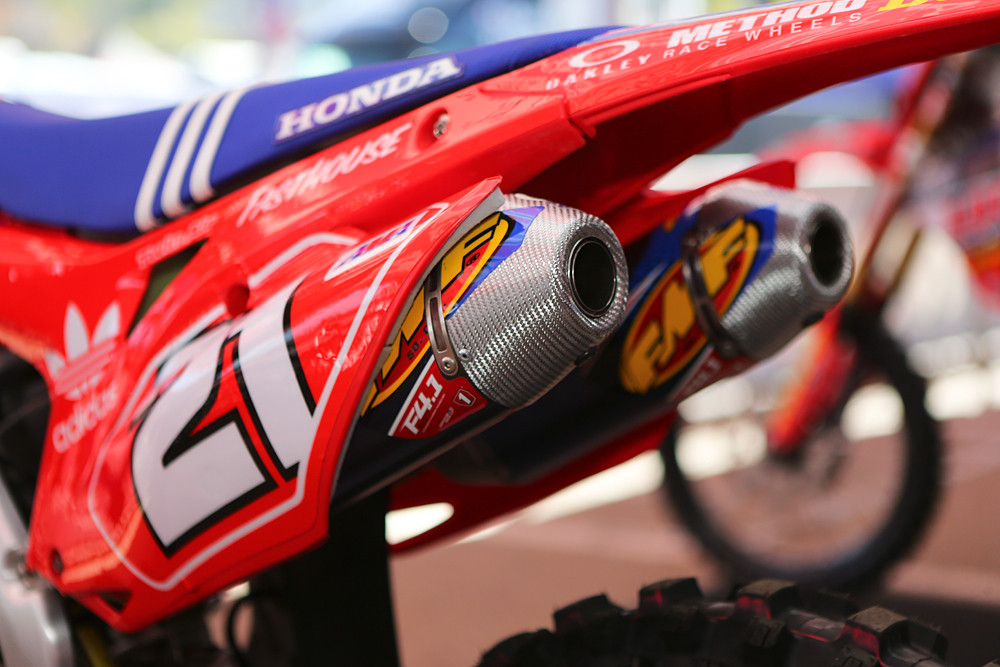 Cole Seely - Vital MX Pit Bits: San Diego - Motocross Pictures - Vital MX