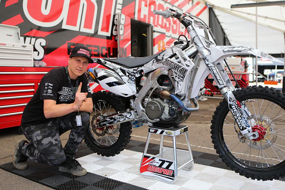 Jimmy Albertson - Vital MX Pit Bits: San Diego - Motocross Pictures - Vital MX