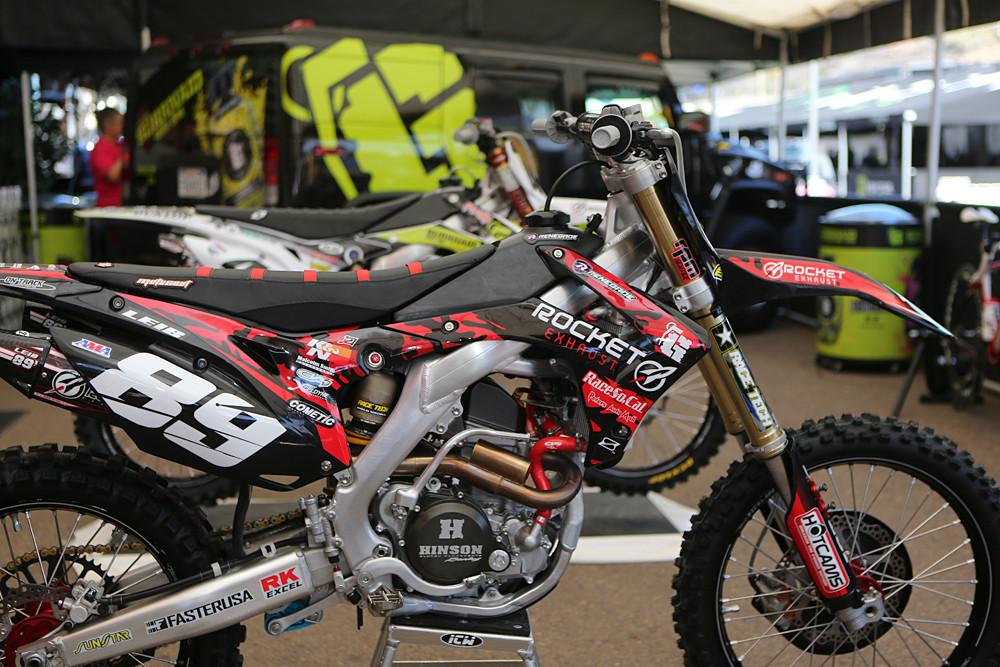 Michael Leib - Vital MX Pit Bits: San Diego - Motocross Pictures - Vital MX