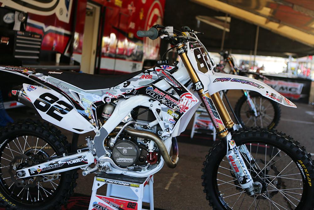 Kyle Partridge - Vital MX Pit Bits: San Diego - Motocross Pictures - Vital MX