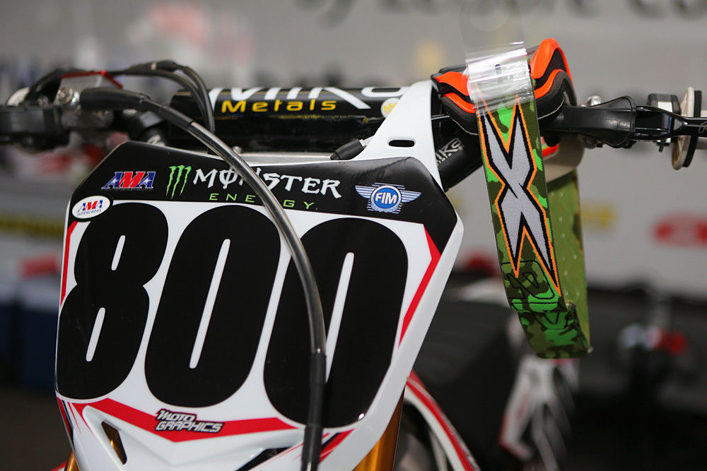 Mike Alessi - Vital MX Pit Bits: San Diego - Motocross Pictures - Vital MX