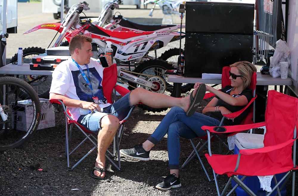 Jimmy Albertson - Vital MX Pit Bits: Thunder Valley - Motocross Pictures - Vital MX