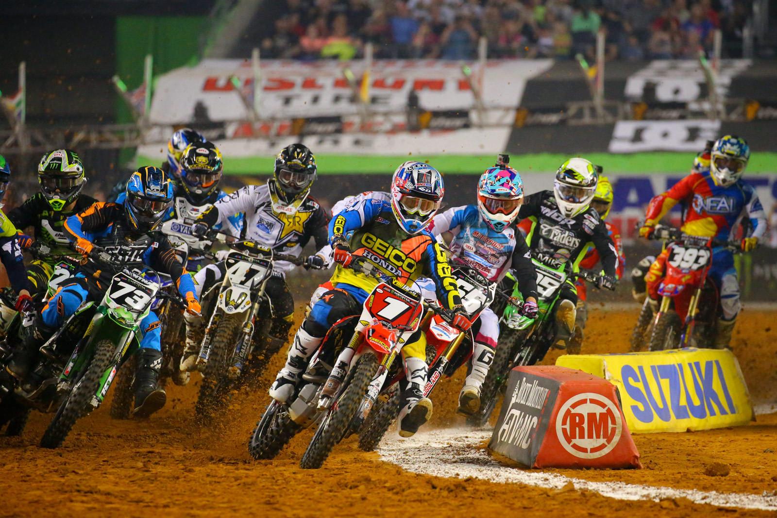 250 Heat 1 - Photo Blast: Arlington - Motocross Pictures - Vital MX