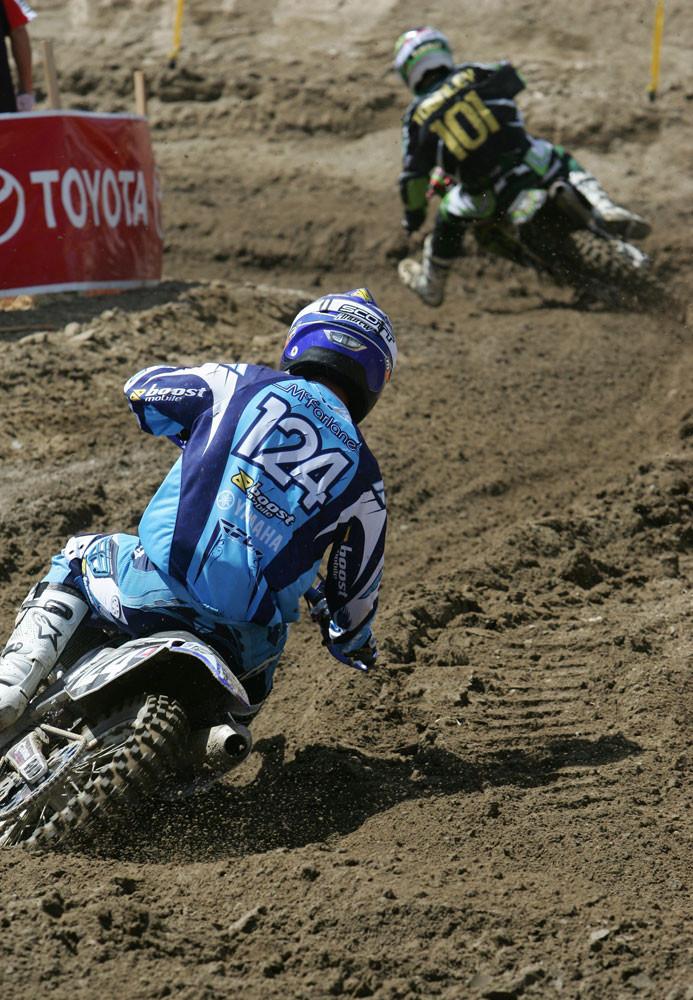 Andrew McFarlane and Ben Townley - AMA Glen Helen '06 - Motocross Pictures - Vital MX