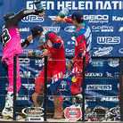 Marvin Musquin (1st), Justin Hill (2nd), and Jessy Nelson (3rd)