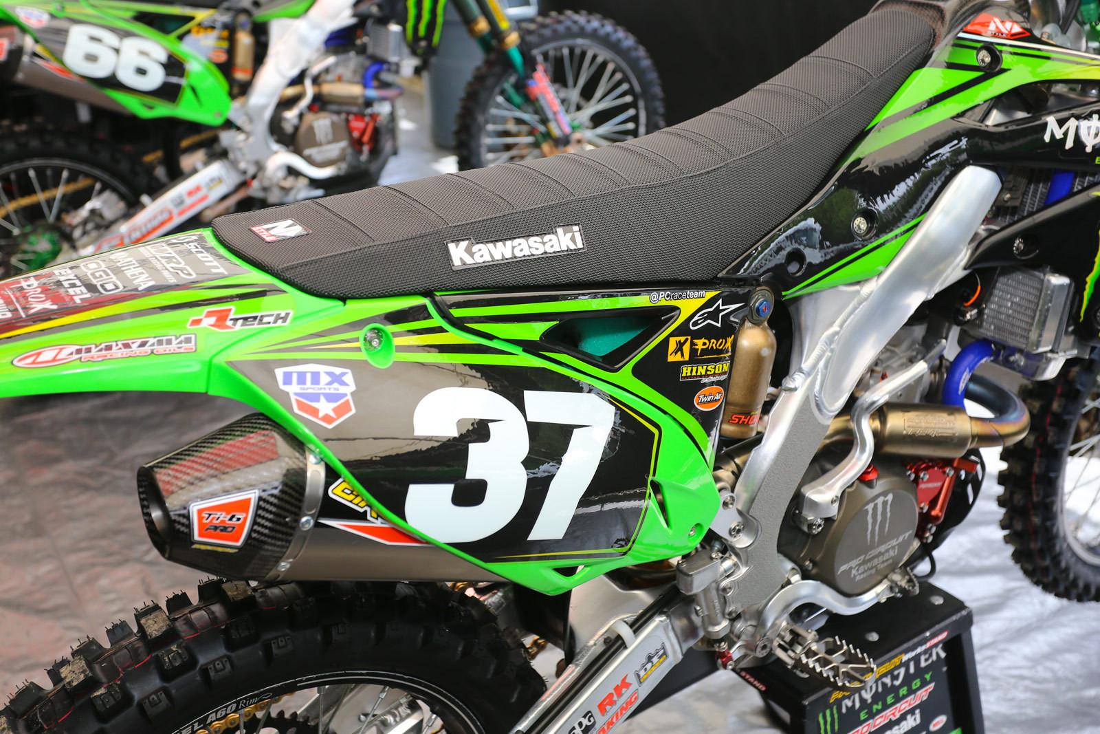 Monster Energy Pro Circuit Kawasaki - Vital MX Pit Bits: Muddy Creek - Motocross Pictures - Vital MX