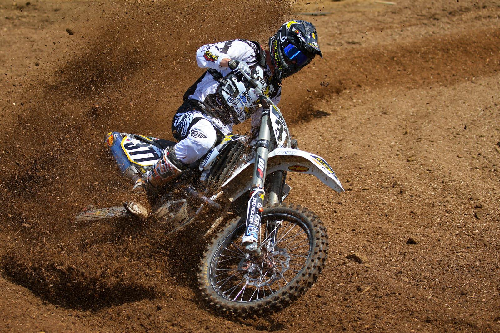 Christophe Pourcel - Vital MX Pit Bits: Muddy Creek - Motocross Pictures - Vital MX