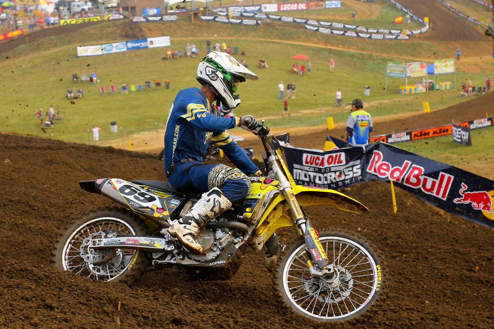 Ronnie Stewart - Vital MX Pit Bits: Muddy Creek - Motocross Pictures - Vital MX