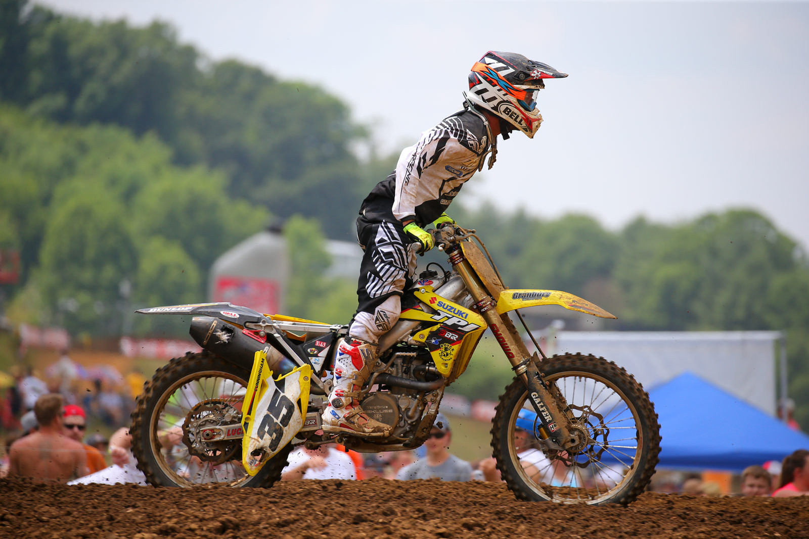 Kyle Cunningham - Vital MX Pit Bits: Muddy Creek - Motocross Pictures - Vital MX