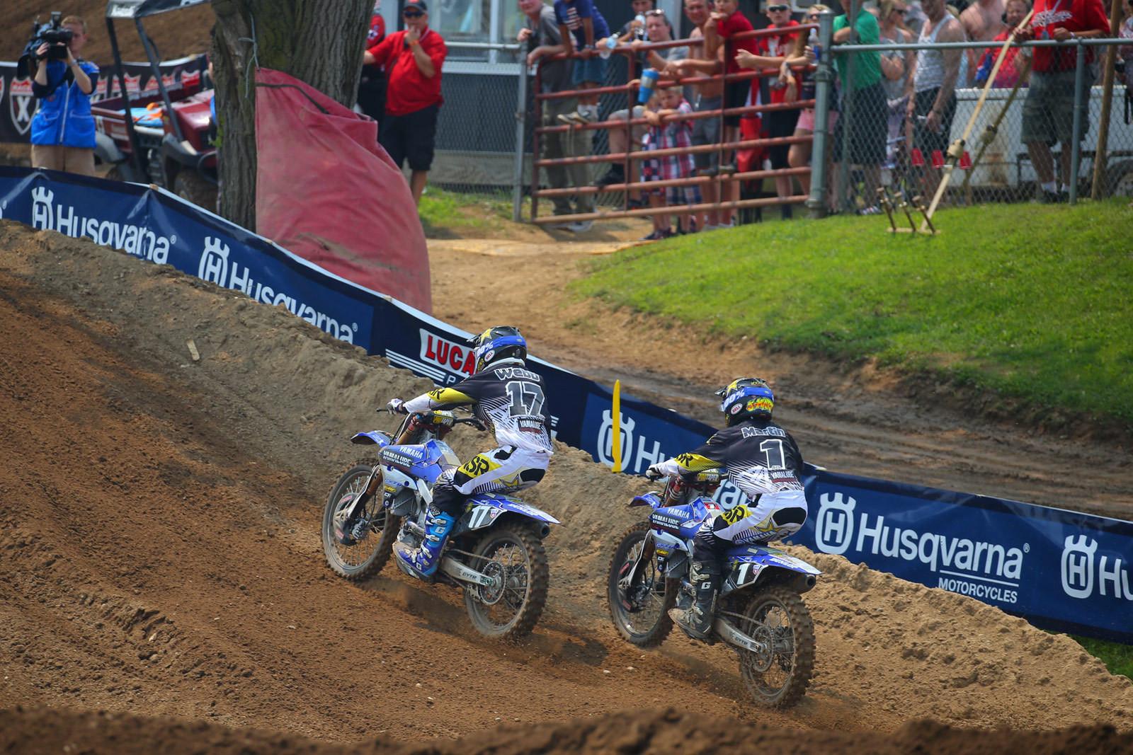 Cooper Webb and Jeremy Martin - Photo Blast: RedBud - Motocross Pictures - Vital MX