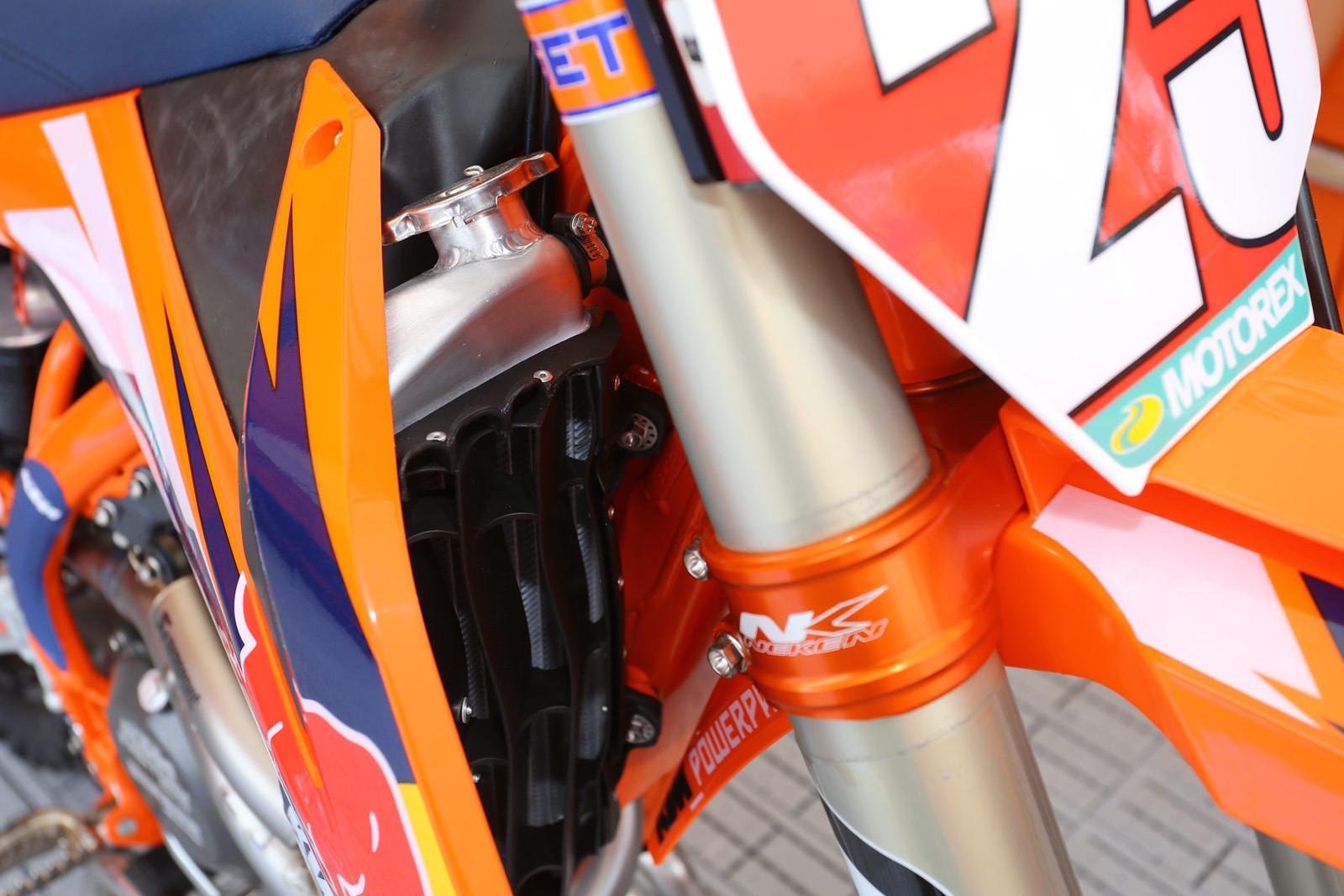 KTM Louvers - Vital MX Pit Bits: RedBud - Motocross Pictures - Vital MX