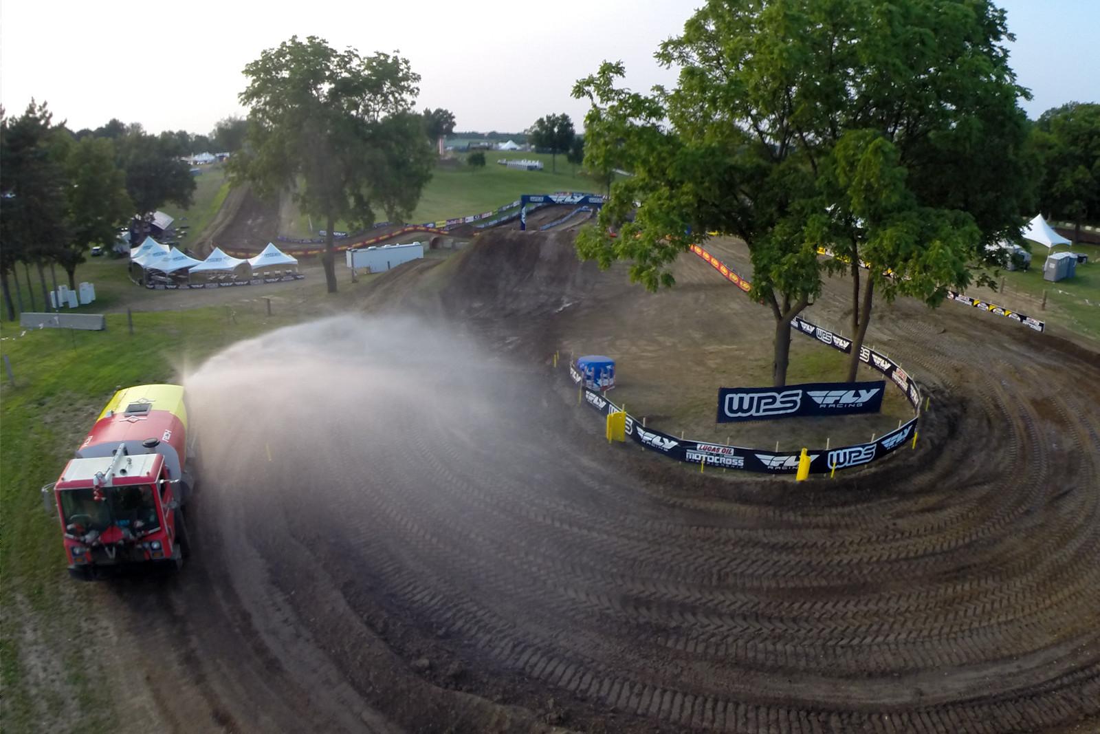 Water trucks - Vital MX Pit Bits: RedBud - Motocross Pictures - Vital MX