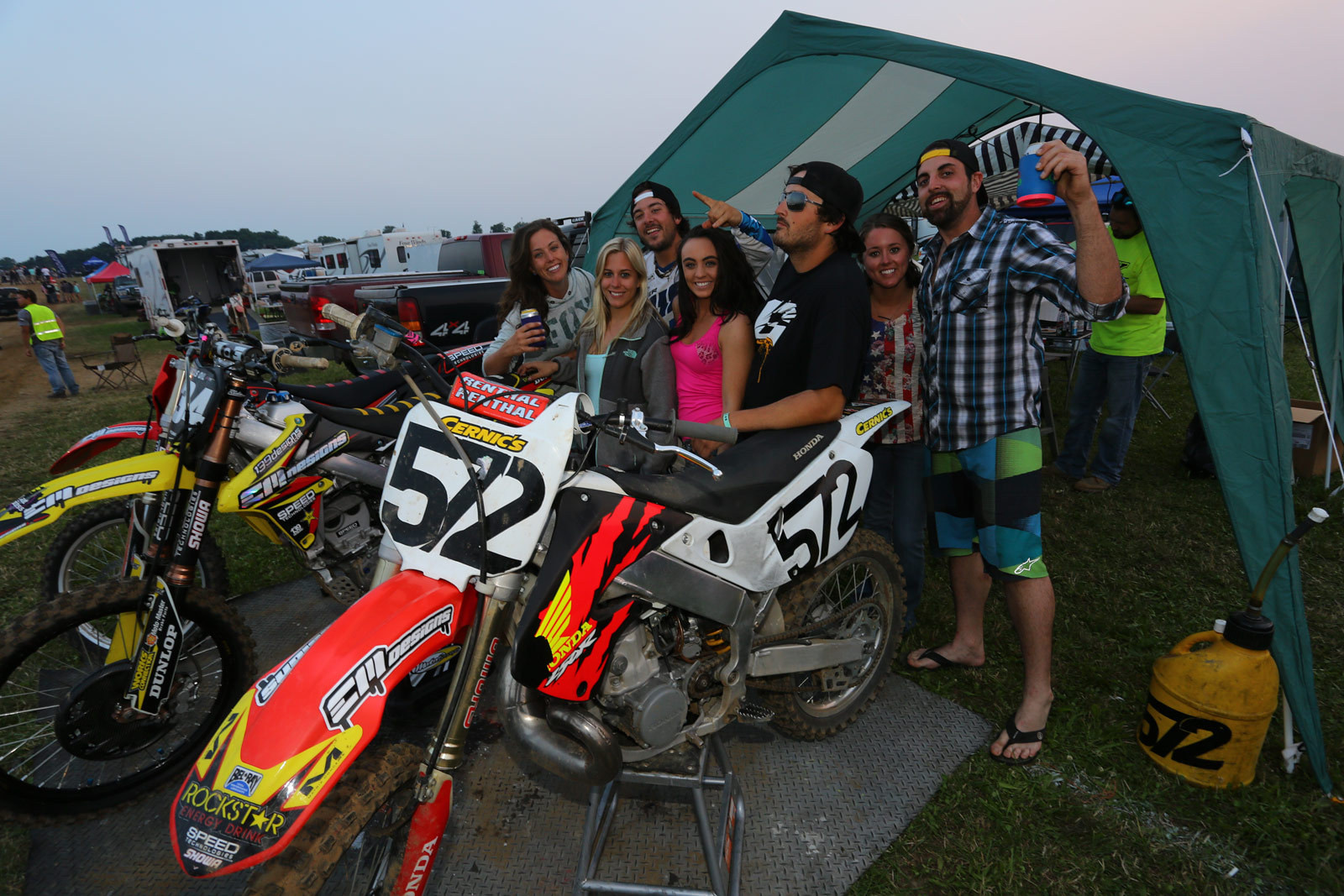 Red Bud After Hours - Vital MX Pit Bits: RedBud - Motocross Pictures - Vital MX