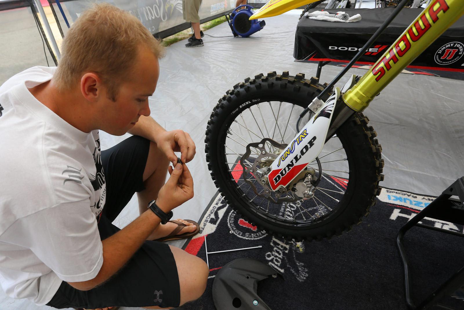 Richard Matchett - Vital MX Pit Bits: RedBud - Motocross Pictures - Vital MX