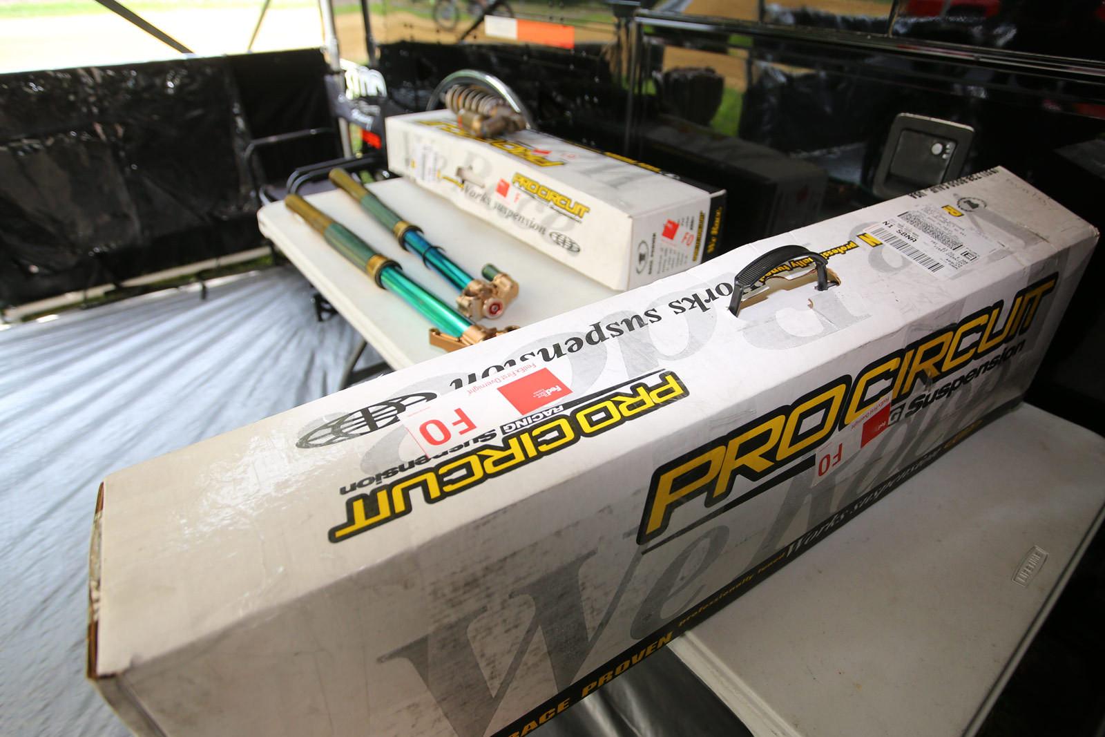 Monster Energy Pro Circuit Kawasaki - Vital MX Pit Bits: RedBud - Motocross Pictures - Vital MX
