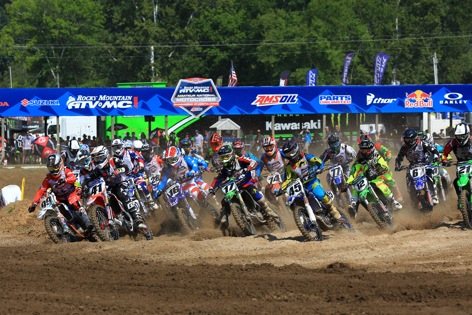 Open Pro Sport - Day 1: 2015 Rocky Mountain ATV/MC AMA Amateur National Motocross Championships  - Motocross Pictures - Vital MX
