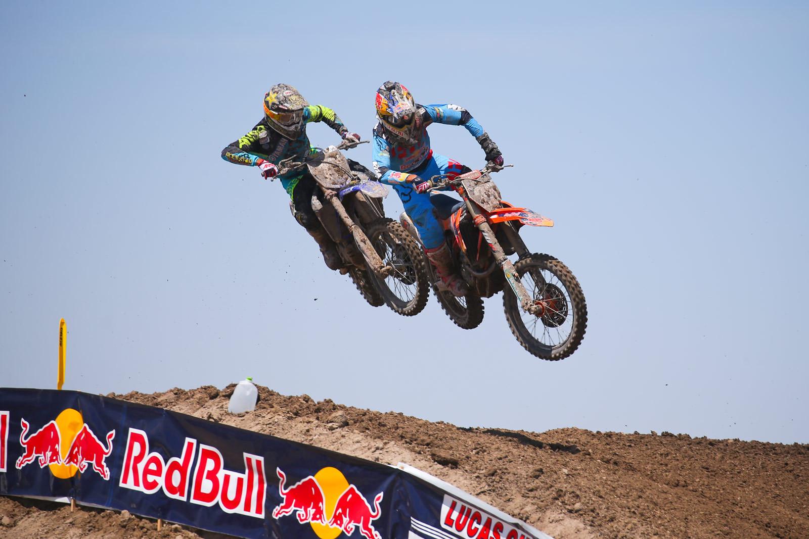 Cooper Webb and Marvin Musquin - Photo Blast: Miller Motorsports Park - Motocross Pictures - Vital MX
