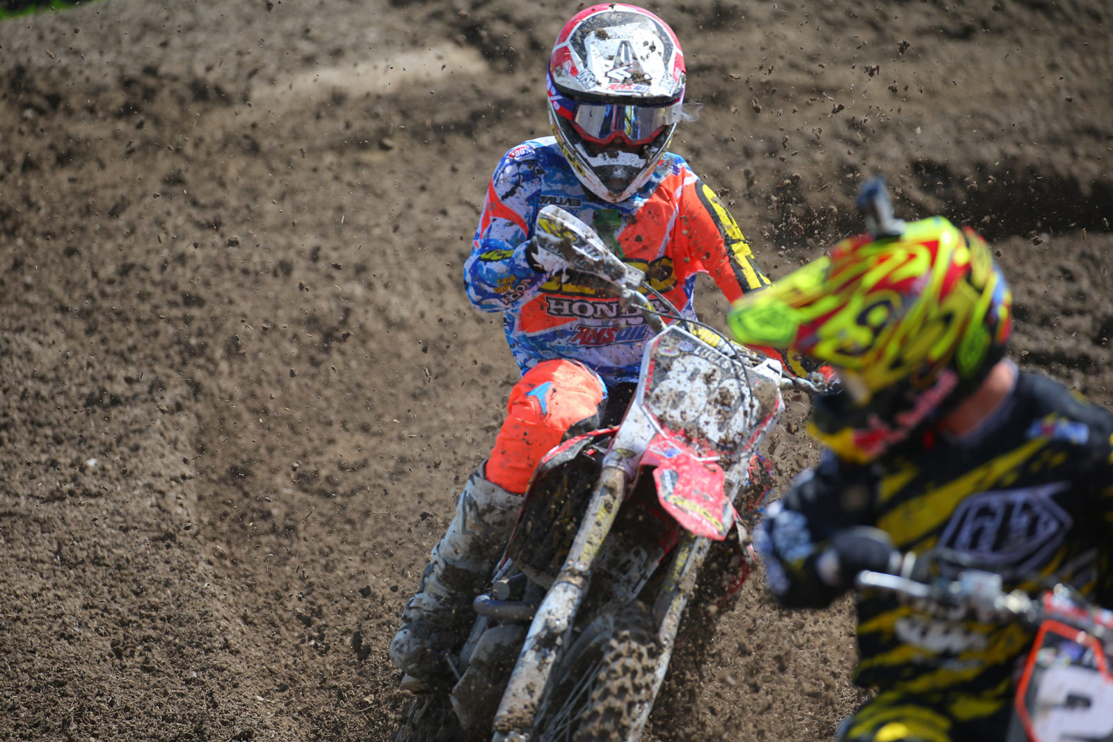 RJ Hampshire and Jessy Nelson - Photo Blast: Miller Motorsports Park - Motocross Pictures - Vital MX
