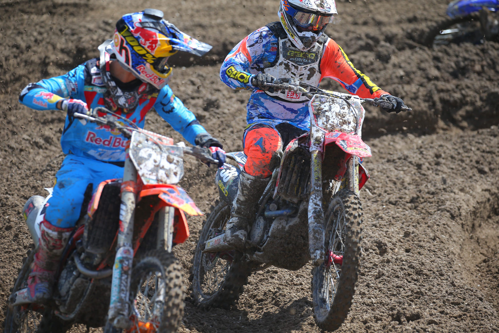 Marvin Musquin and Matt Bisceglia - Photo Blast: Miller Motorsports Park - Motocross Pictures - Vital MX