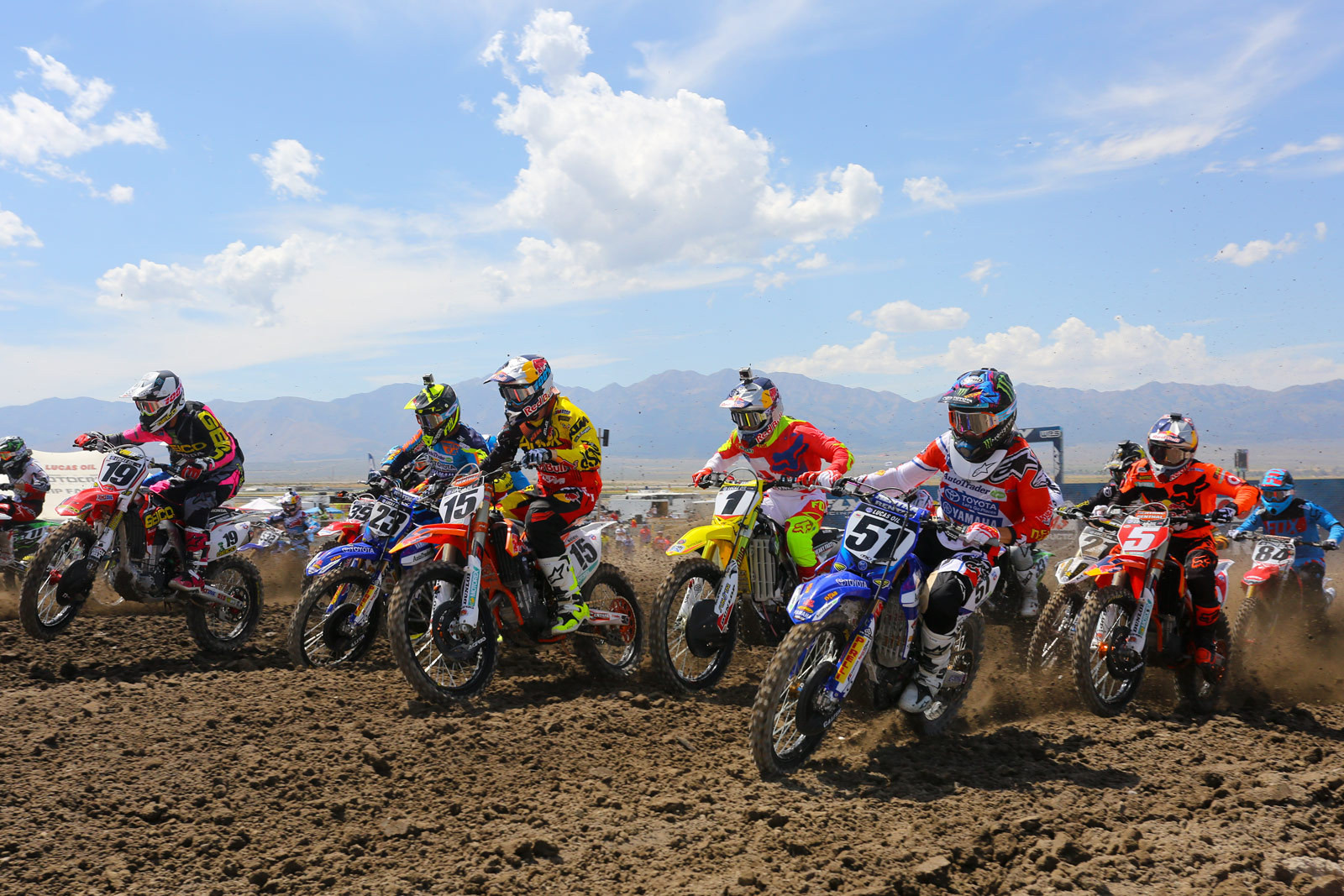 450 moto one start - Photo Blast: Miller Motorsports Park - Motocross Pictures - Vital MX
