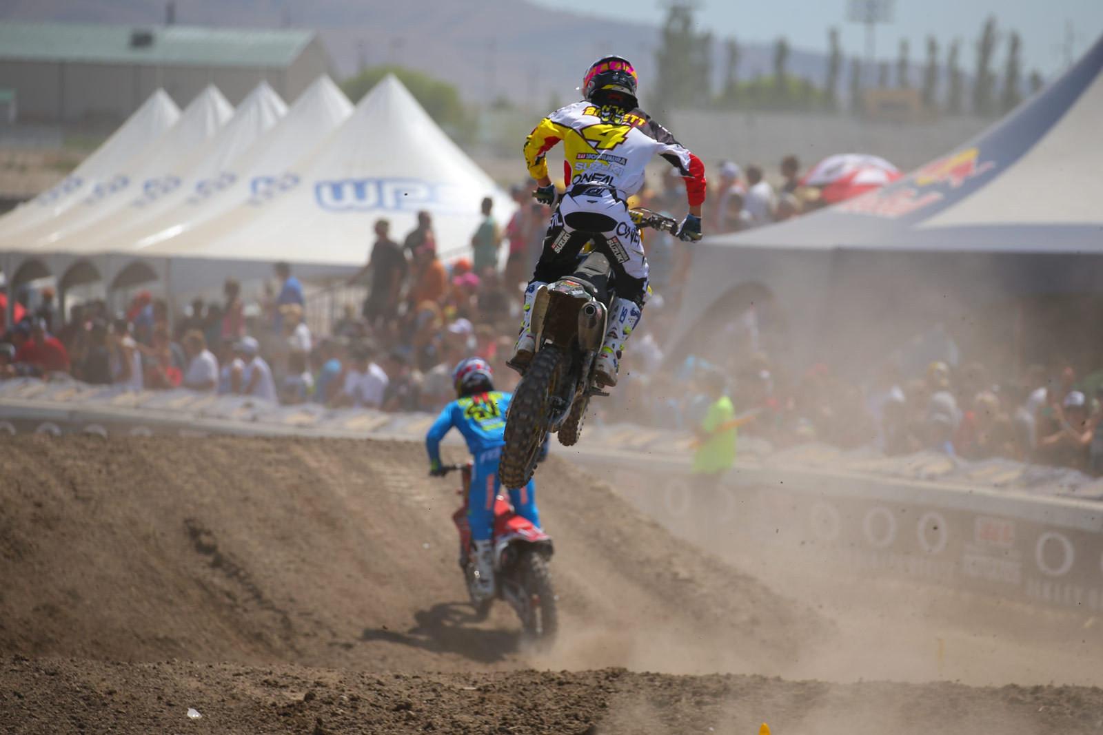 Blake Baggett - Photo Blast: Miller Motorsports Park - Motocross Pictures - Vital MX