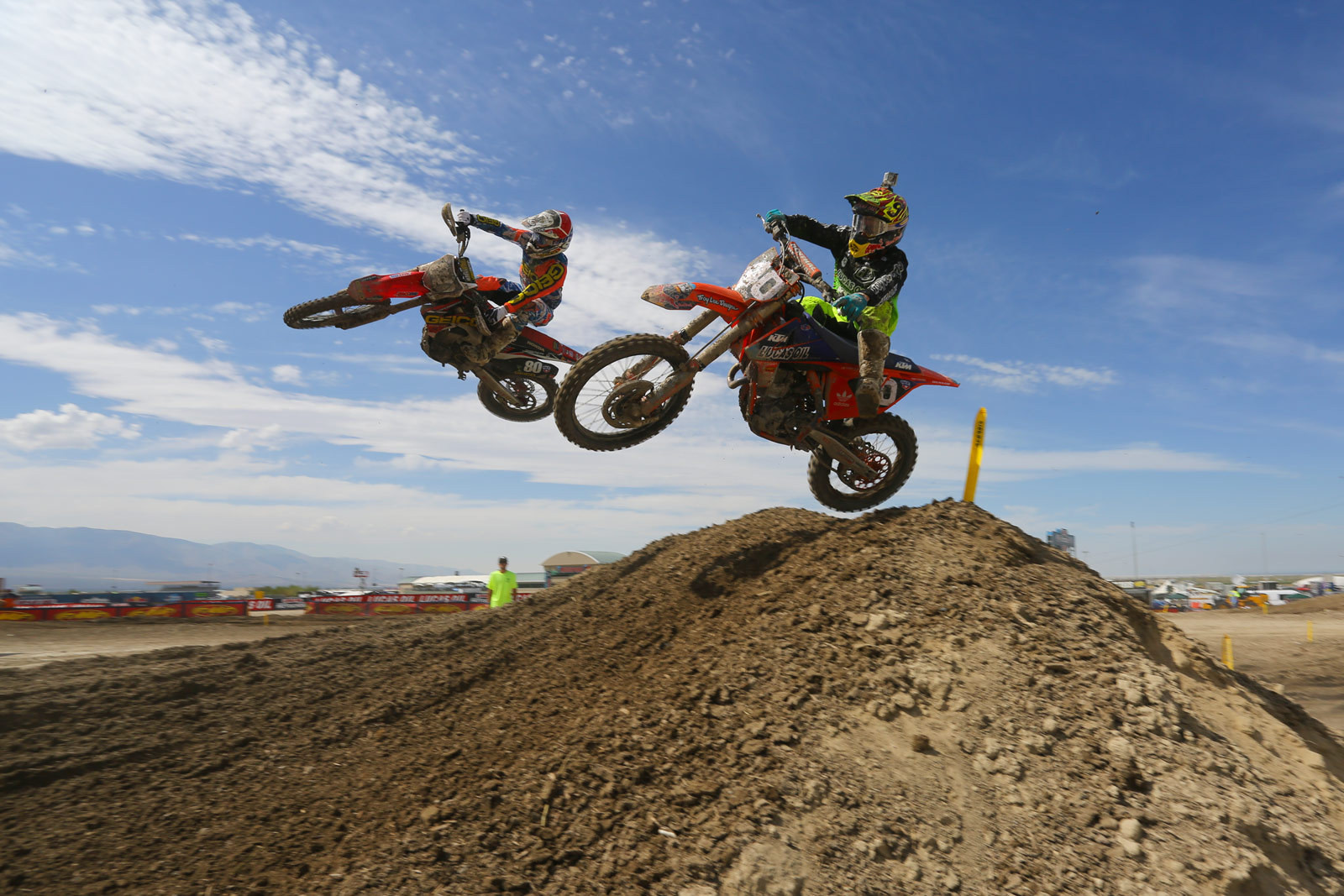 Shane McElrath and RJ Hampshire - Photo Blast: Miller Motorsports Park - Motocross Pictures - Vital MX