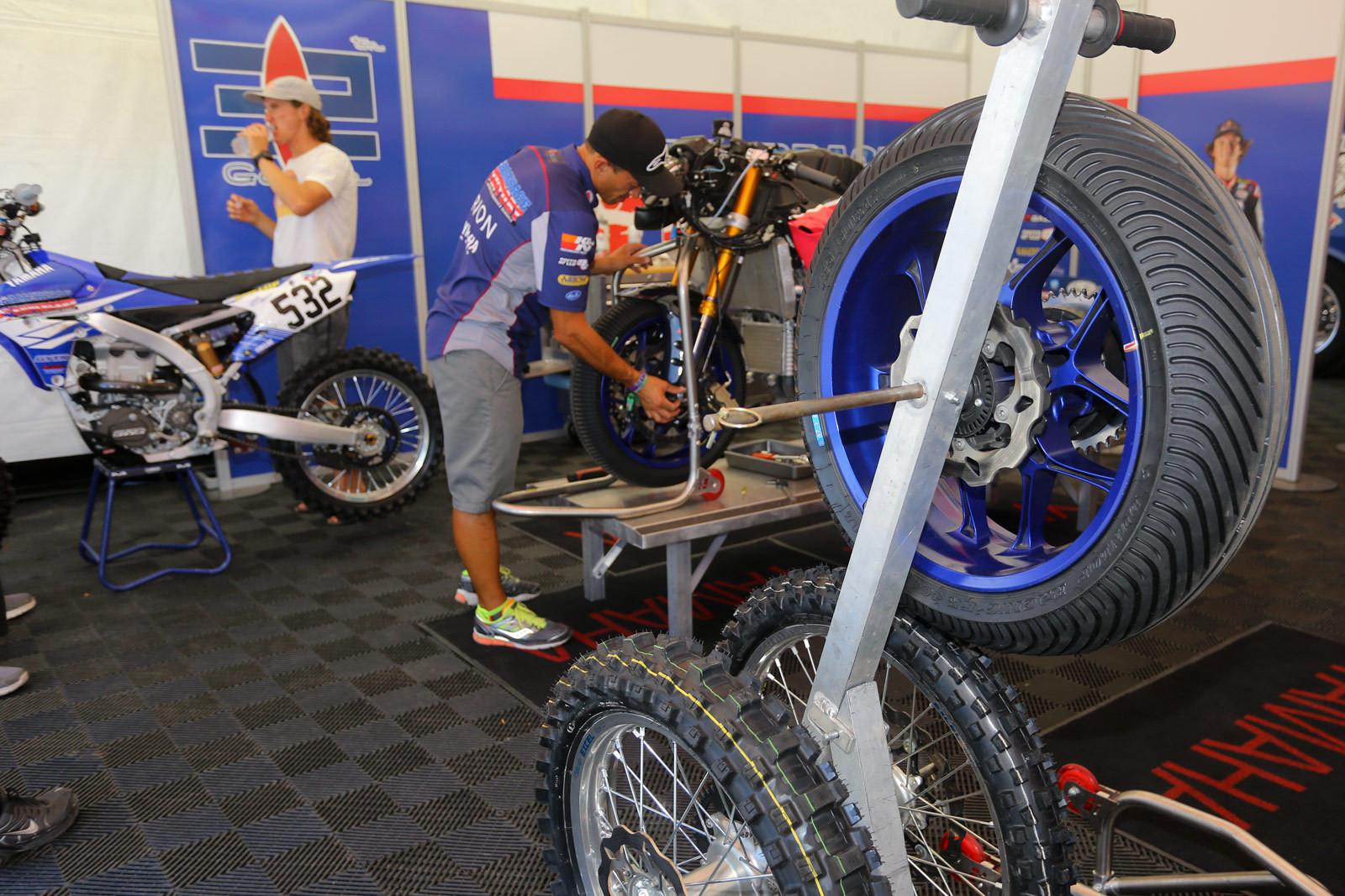 Jake Gagne - Vital MX Pit Bits: Miller Motorsports Park - Motocross Pictures - Vital MX